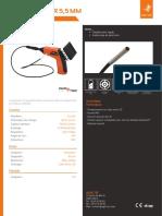 Endoscope industriel - ENDOSCAM® 5,5 mm