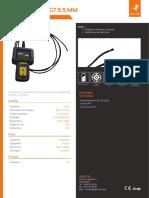 Endoscope industriel - ENDOSCAM® GT 5,5 mm