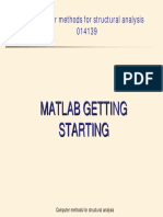 MATLAB Getting Started