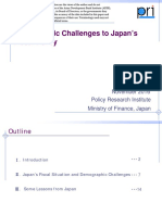 Demographic Challenges to Japan's Fiscal Policy