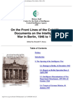 Steury_1999_On the Front Lines of the Cold War. Documents on the Intelligence War in Berlin 1946 to 1961