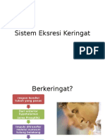 Sistem Eksresi Keringat