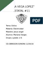 Eolica Sara Vega Lopez