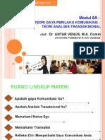 Modul 6 Tekom Analisis Transaksional.ppsx