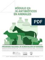 NVAP Mod23 Antibiotics in Animals