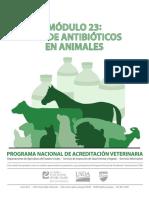 NVAP Mod23 Antibiotics in Animals