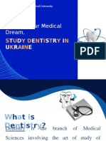 To Fulfill Your Medical Dream, Study Dentistry in Ukraine