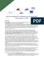 Cloud Computing Saas Conference Institut G9+  - 100531 - Table Ronde n°1