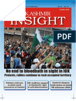 Kashmir Insight October 2016