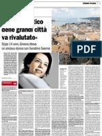 """Interview au """"Corriere del Ticino"""""""