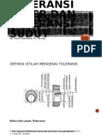 Pertemuan 12 TOLERANSI LINIER DAN TOLERANSI SUDUT (1).pptx