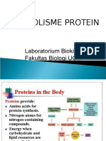 Metabolisme Protein Matrikulasi 2016