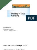 Branding in Rural Marketing-PPT