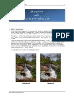 Sharpening with Adobe Photoshop CS5