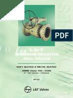 LT Pipeline Ball Valves
