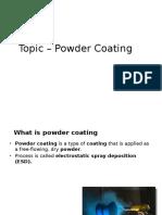 Powder Coating L8