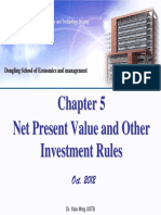 Chapter 05 Net Present Value and Other Investment Rules