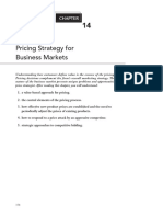 15. Chapter 14 - Pricing Strategy for Business Markets
