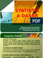 Modul 01 Statistika - Pendahuluan