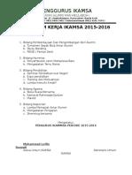 Program Kerja IKAMSA 2015