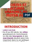Societes Et Cultures Urbaines Au Moyen Age - Copie