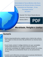 Moralidade, Religião e Justiça
