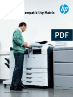 Hp Supplies Compatibility Matrix