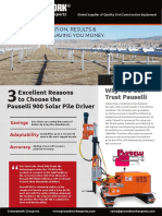 Pauselli 900 Solar Pile Driver Brochure