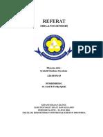 REFERAT KULIT Syahril Maulana Rasahan - Melanogenesis (Autosaved)