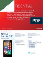 Nokia Lumia 635 RM-974 RM-975 Service Schematics v1.0