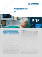 BOGE - Specifying Compressed Air for Healthcare - White Paper - Jan 2016