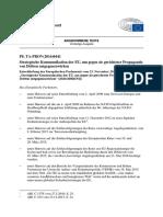 """Entschließung des Europäischen Parlaments vom 23. November 2016 zu dem Thema """"Strategische Kommunikation der EU, um gegen sie gerichteter Propaganda von Dritten entgegenzuwirken"""""""