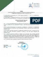 OMEN_3136_20.02.2014_privind Organizarea- Functionarea- Admiterea Si Calendarul Admiterii in Invatamantul Profesional de Stat Cu Durata de 3 Ani