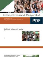 Kelompok Sosial Di Masyarakat