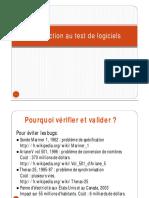 Introduction de SQ Test
