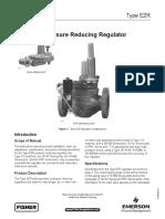 EZR Fisher Pressure Reducing Regulator