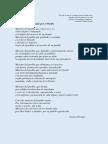 Poemas Al Maestro,  escritos por Norma Paredes