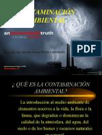 Clase de Contaminacion Ambiental