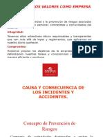 Causas y Consecuencia de Los Accidentes