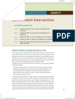 Goverment Intervension