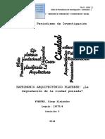 PDI - Segunda Investigación - Diego Fuertes