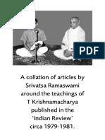 Indian-Review S Ramaswami