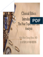 Clinical Ethics Introduction
