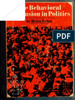 Heinz Eulau - The Behavioral Persuasion in Politics.pdf
