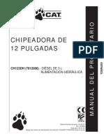 Op CH123DH Chipeadora 12
