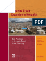 Managing Urban Expansion in Mongolia