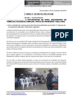 Nota de Prensa Nº 829 - 23oct16