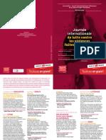 Programme à Toulouse, pour la journée de lutte contre les violences faites aux femmes