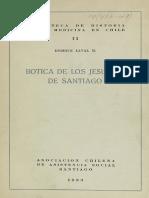 Botica de Los Jesuitas Laval