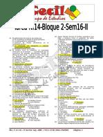 Tarea n.14 Bloqueii Sem16 II